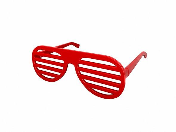 Shutter Shade Sunglasses - 3DOcean Item for Sale