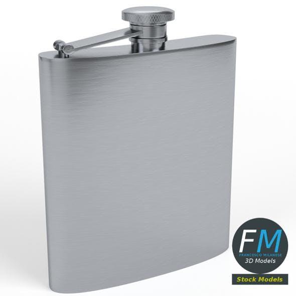Hip flask - 3DOcean Item for Sale