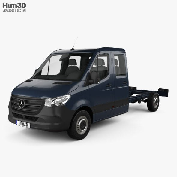 Mercedes-Benz Sprinter (W907) Crew Cab Chassis L3 2019