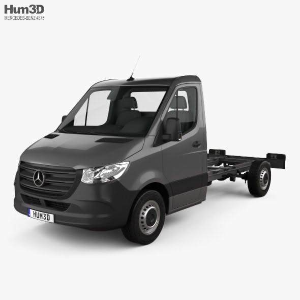 Mercedes-Benz Sprinter (W907) Single Cab Chassis L2 2019 - 3DOcean Item for Sale