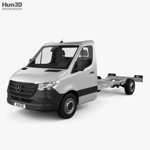 Mercedes-Benz Sprinter (W907) Single Cab Chassis L3 2019 - 3DOcean Item for Sale