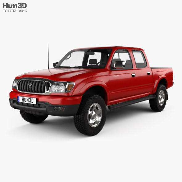 Toyota Tacoma Double Cab Limited 2001 - 3DOcean Item for Sale