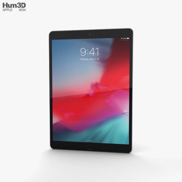 Apple iPad Air (2019) Cellular Space Gray - 3DOcean Item for Sale