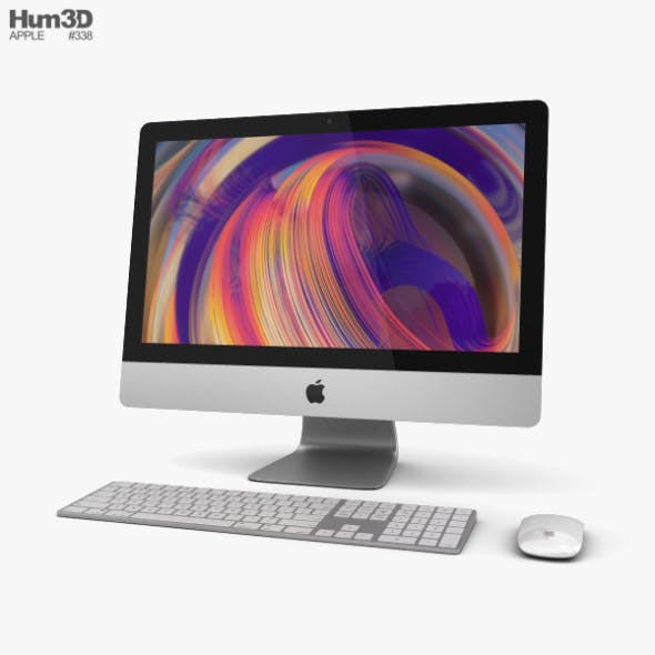 Apple iMac 21.5-inch (2019) - 3DOcean Item for Sale