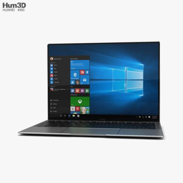 Huawei MateBook X Pro - 3DOcean Item for Sale