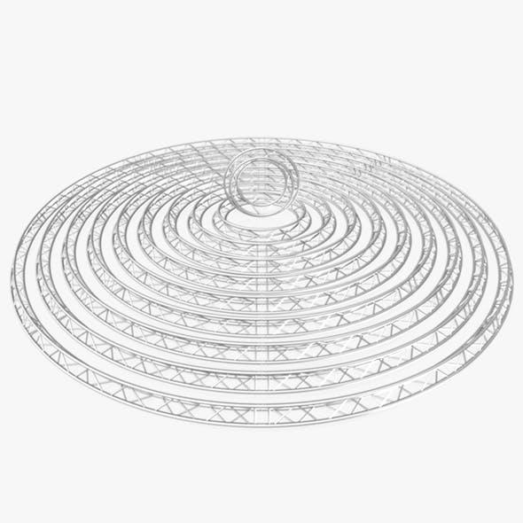 Circle Triangular Truss Modular Collection - 10 PCS Modular - 3DOcean Item for Sale