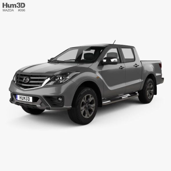 Mazda BT-50 Double Cab 2018 - 3DOcean Item for Sale