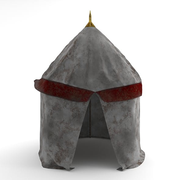 Mini Army Tent - 3DOcean Item for Sale