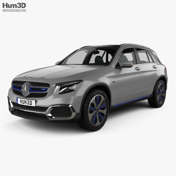 Mercedes-Benz GLC-class F-Cell 2019 - 3DOcean Item for Sale
