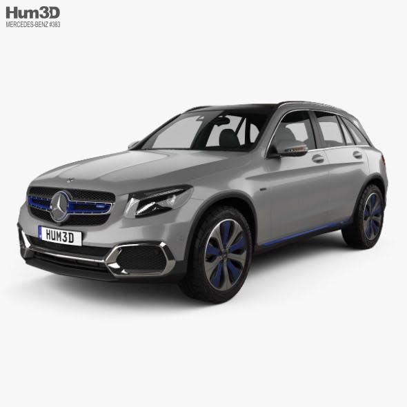 Mercedes-Benz GLC-class F-Cell 2019