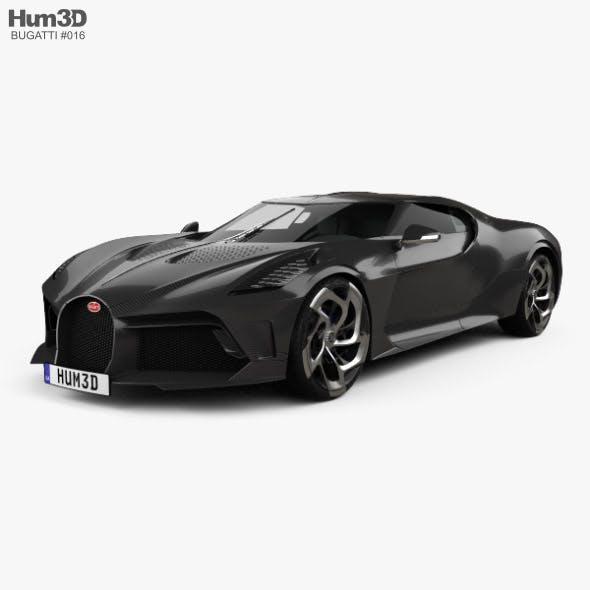 Bugatti La Voiture Noire 2019 - 3DOcean Item for Sale