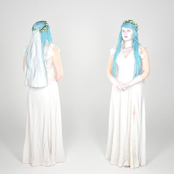 Corpse Bride cosplay 97 - 3DOcean Item for Sale
