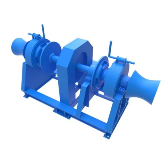 Anchor Winch 1T - 3DOcean Item for Sale