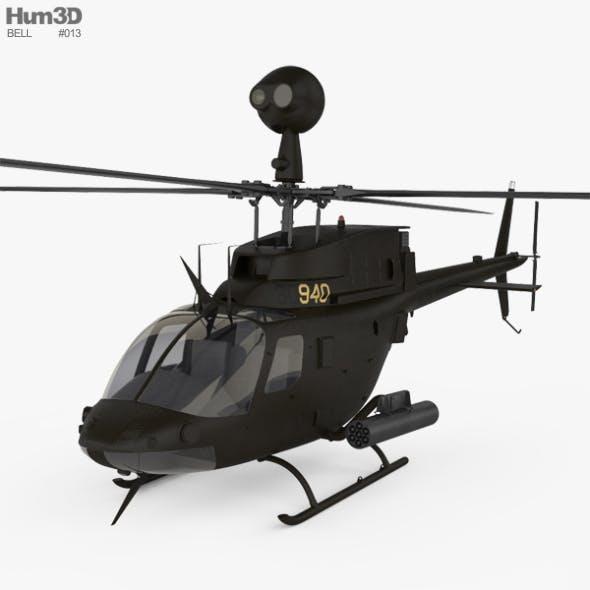 Bell OH-58 Kiowa - 3DOcean Item for Sale