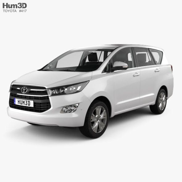 Toyota Innova with HQ interior 2016 - 3DOcean Item for Sale