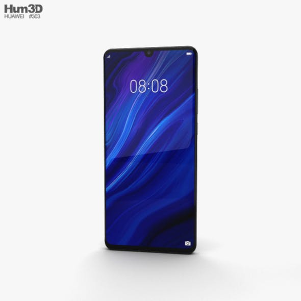 Huawei P30 Pro Black - 3DOcean Item for Sale