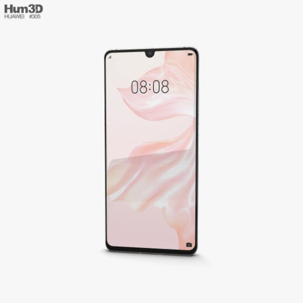 Huawei P30 Pro Pearl White - 3DOcean Item for Sale