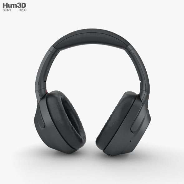 Sony WH-1000XM3 Black - 3DOcean Item for Sale
