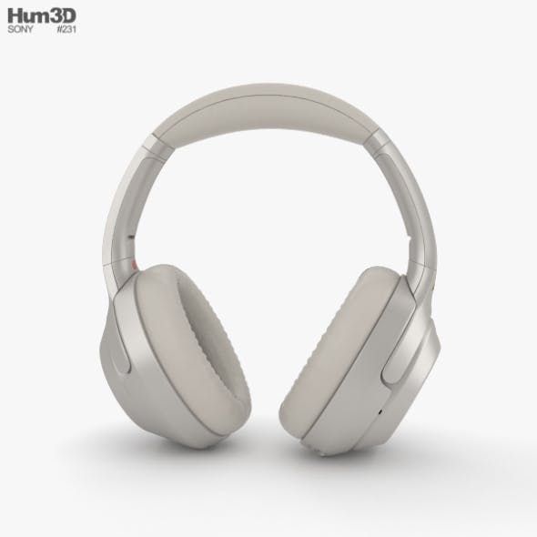 Sony WH-1000XM3 Silver - 3DOcean Item for Sale