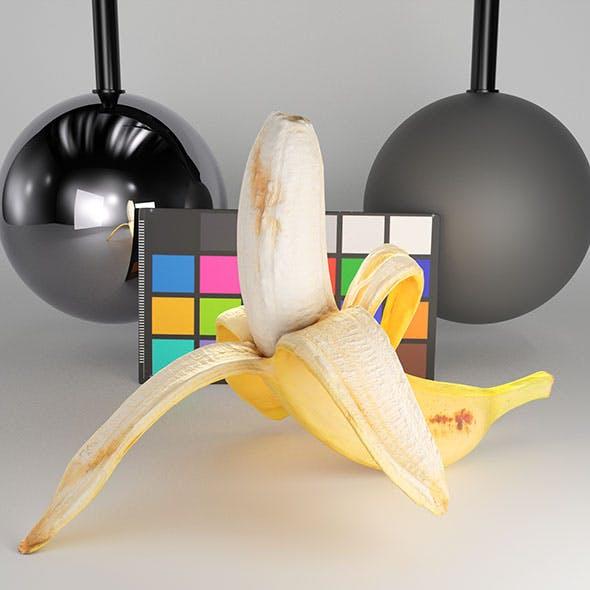 Peeled Banana 22 - 3DOcean Item for Sale