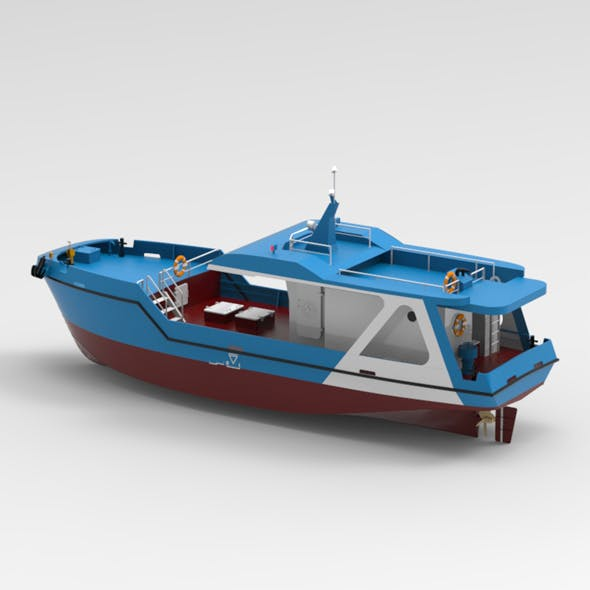 Fishing Vessel - 3DOcean Item for Sale