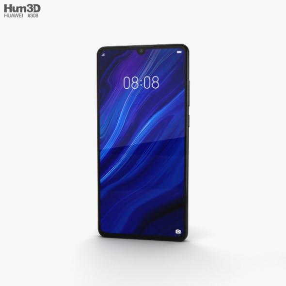 Huawei P30 Black - 3DOcean Item for Sale