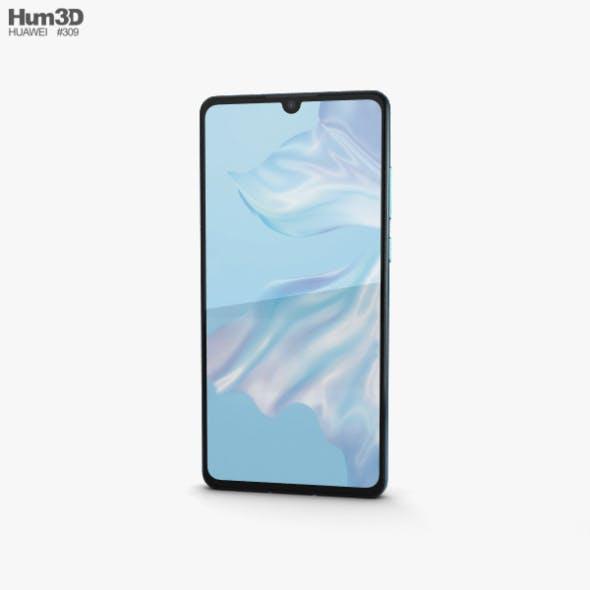 Huawei P30 Breathing Crystal - 3DOcean Item for Sale