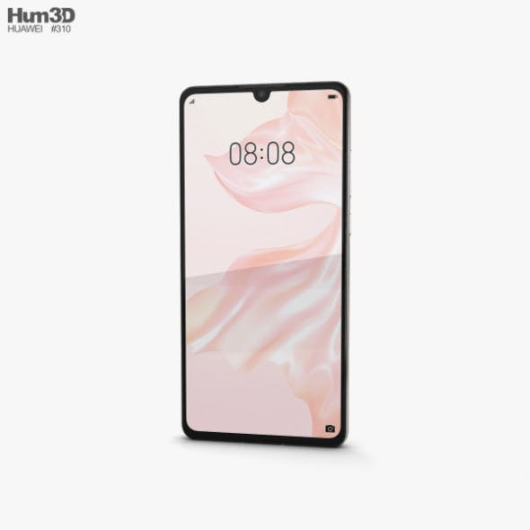 Huawei P30 Pearl White - 3DOcean Item for Sale