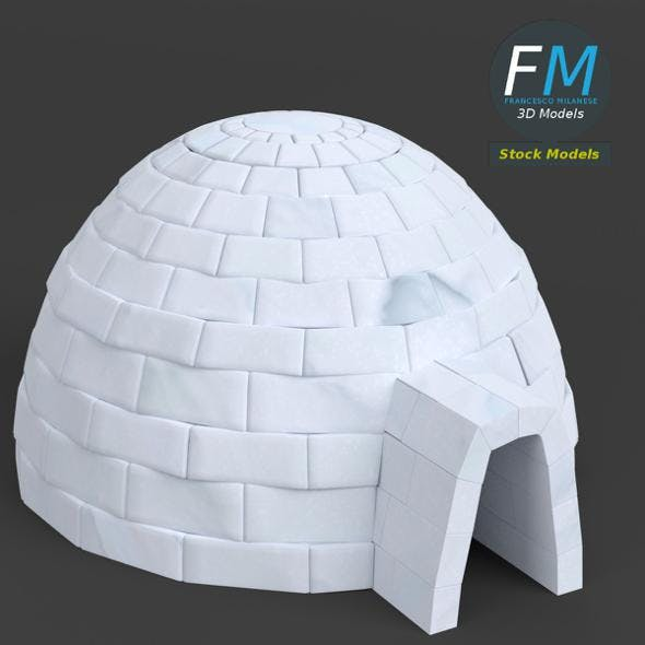 Igloo - 3DOcean Item for Sale