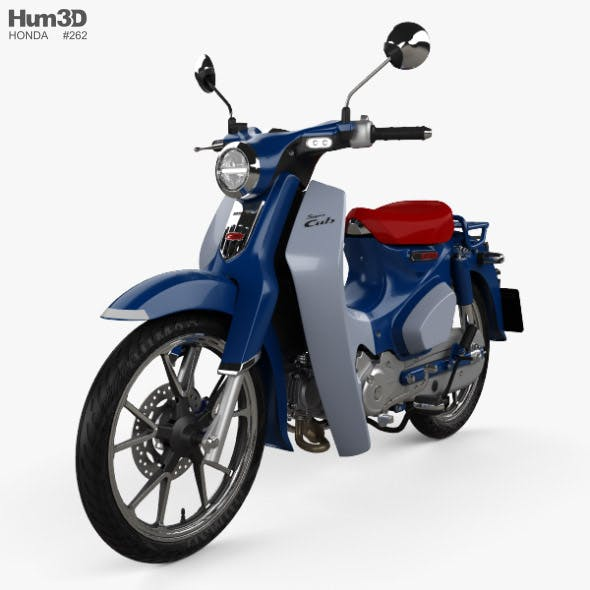 Honda Super Cub C125 2019 - 3DOcean Item for Sale