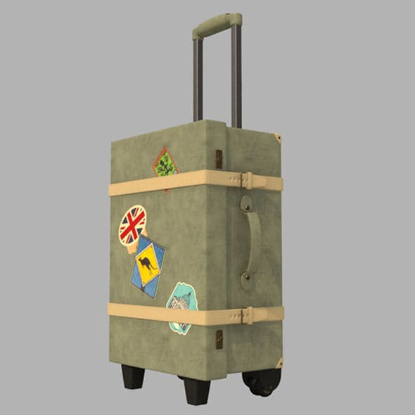 Luggage - 3DOcean Item for Sale