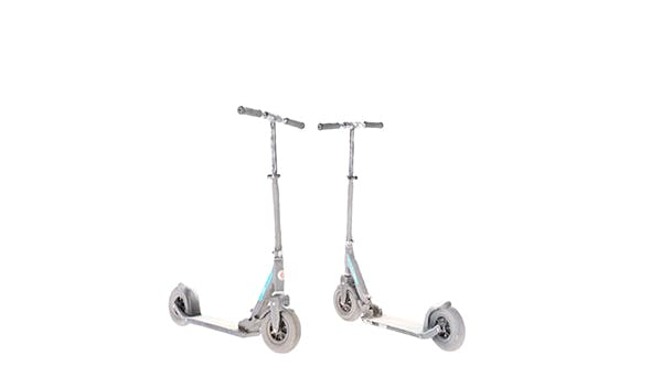 Gray kick scooter 26 - 3DOcean Item for Sale