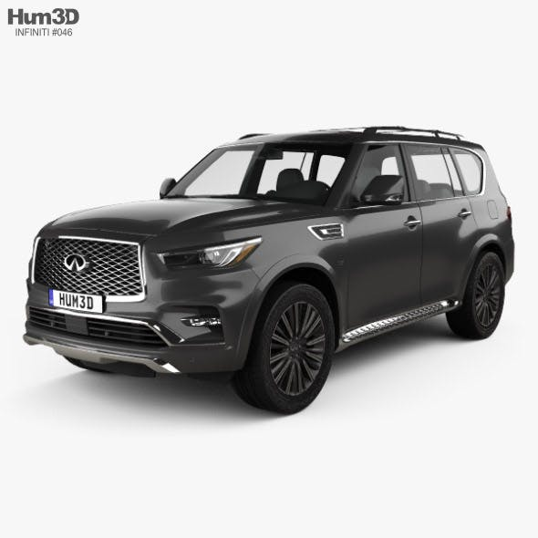 Infiniti QX80 Limited 2019 - 3DOcean Item for Sale