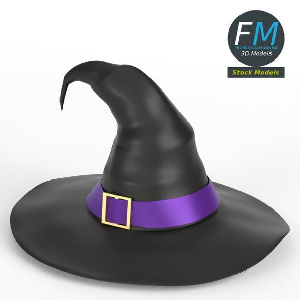 Witch hat - 3DOcean Item for Sale