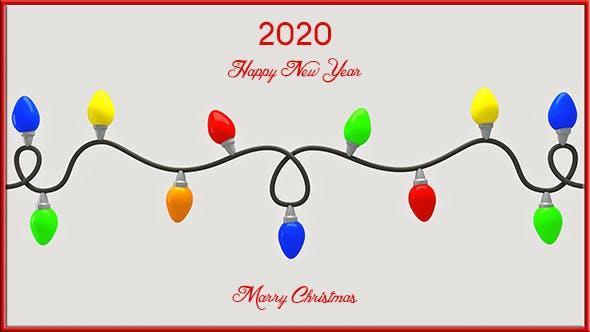Christmas Lights - 3DOcean Item for Sale