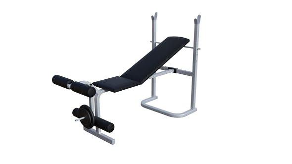 Weight Bench - 3DOcean Item for Sale