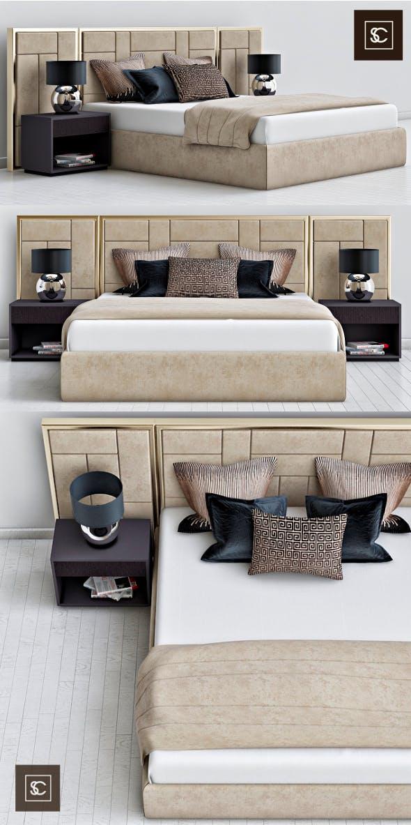 Bed Sloane Royale - 3DOcean Item for Sale