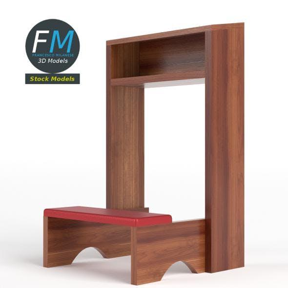 Prayer kneeler - 3DOcean Item for Sale