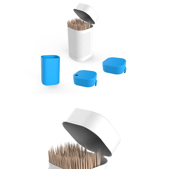 Toothpicks Container