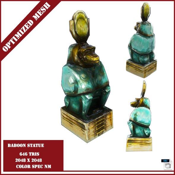 Baboon Statue