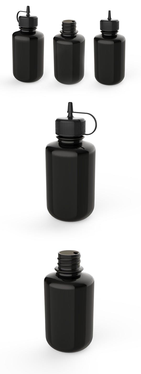 Dropper Bottle 3D model - 3DOcean Item for Sale