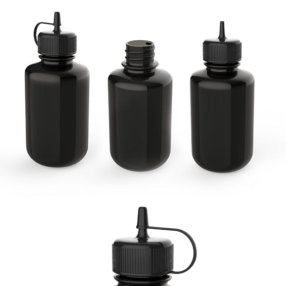 Dropper Bottle 3D model