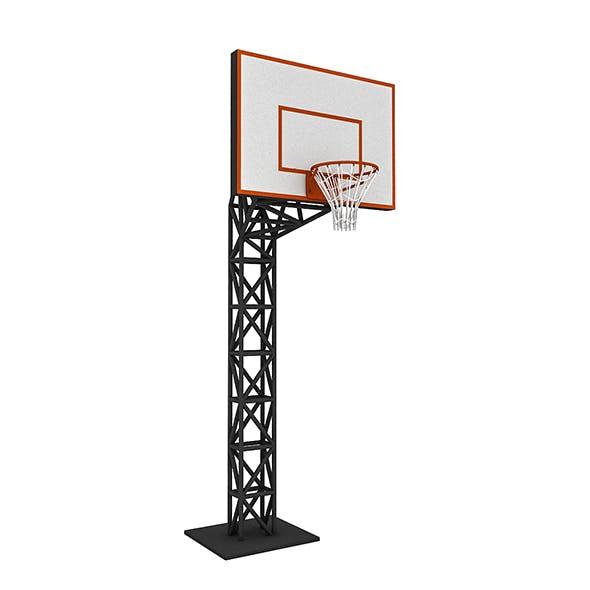 3D Basketball Hoop - 3DOcean Item for Sale
