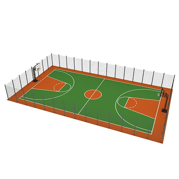Basketball Court - 3DOcean Item for Sale
