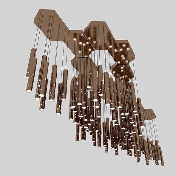 Modern Chandelier - 3DOcean Item for Sale