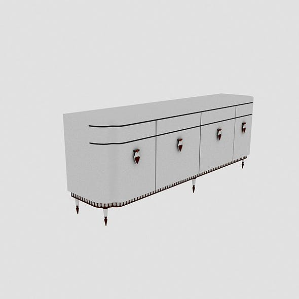 Classic Cabinet Model - 3DOcean Item for Sale