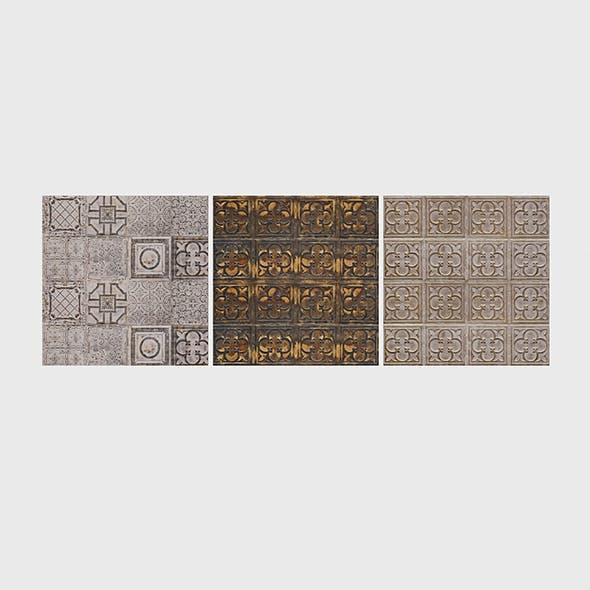 Ceramic Tiles - 3DOcean Item for Sale