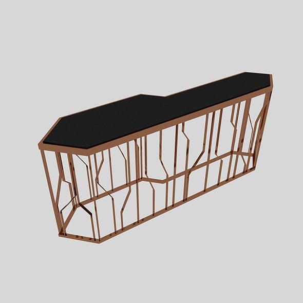 Metal Table 3 - 3DOcean Item for Sale