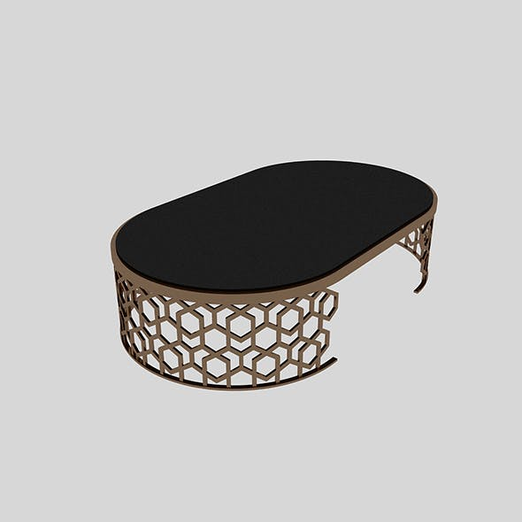 Metal Table 2 - 3DOcean Item for Sale