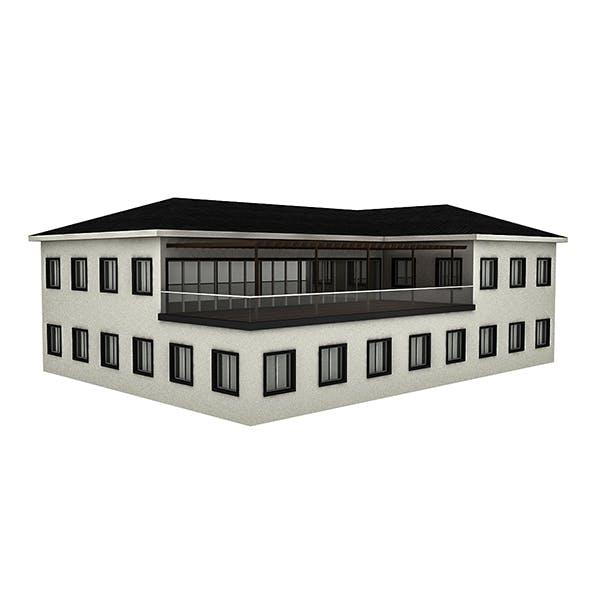 Modern Building 2 - 3DOcean Item for Sale